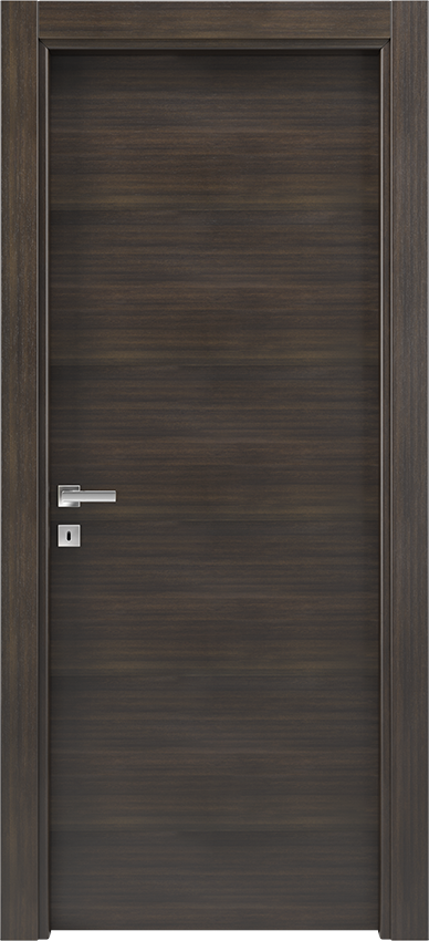 Interior swinging door BRIO 1L, Xonda - Oak anthracite - Gidea