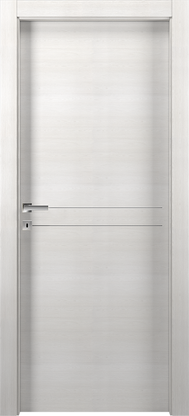Interior swinging door DUILIA 1L2F SF, Avio - Ice elm - Gidea