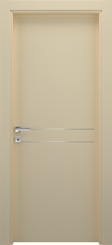 Interior swinging door BRIO 1L2F, Xonda - Ivory - Gidea