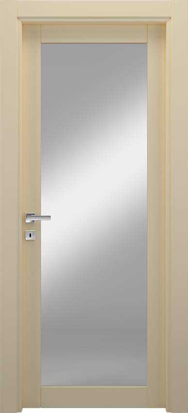 Interior swinging door ANVRIA 1V, Xonda - Ivory - Gidea