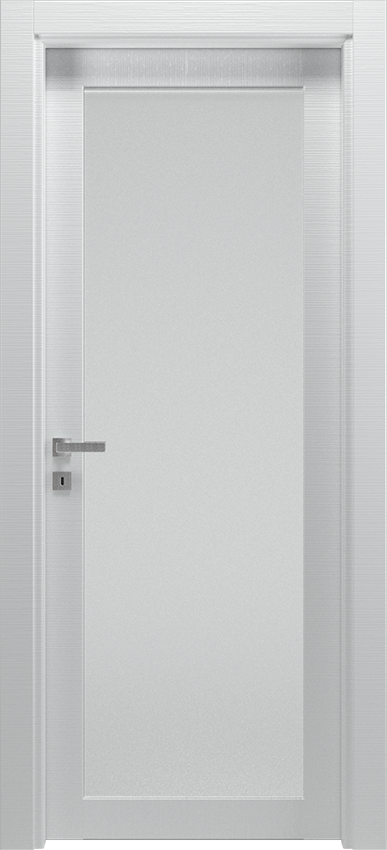 Interior swinging door ANVRIA 1V, Xonda - White lined - Gidea