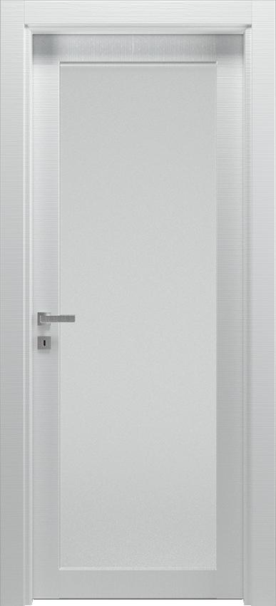 Porta da interni a battente ANVRIA 1V, Xonda - Rigato bianco - Gidea
