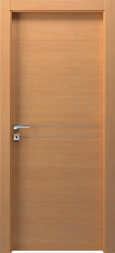 Interior swinging door DUILIA 1L2F SF, Avio - Bleached oak - Gidea