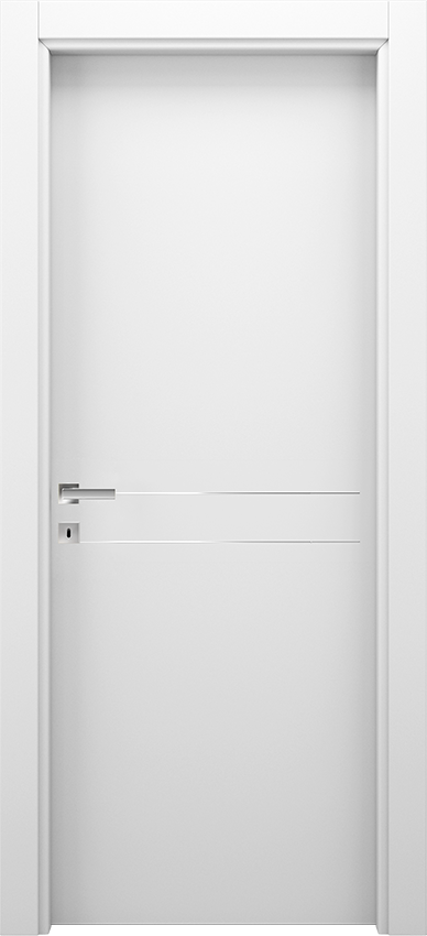 Interior swinging door BRIO 1L2F, Xonda - White - Gidea