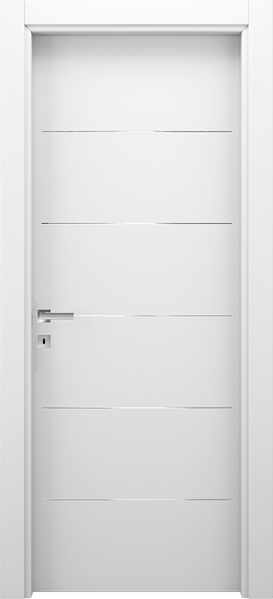 Interior swinging door BRIO 1L5F, Xonda - White - Gidea