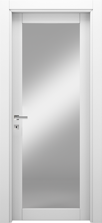 Interior swinging door ANVRIA 1V, Xonda - White - Gidea