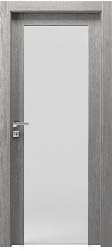 Interior swinging door KIVIA 1V2015, Avio - Grey elm - Gidea
