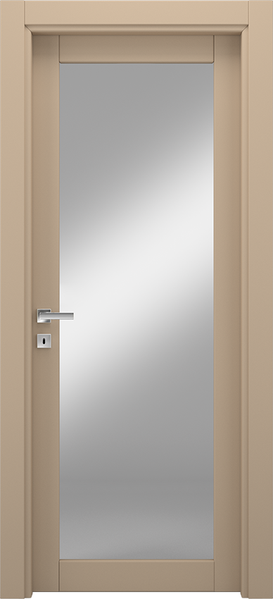 Interior swinging door ANVRIA 1V, Xonda - Dove grey - Gidea