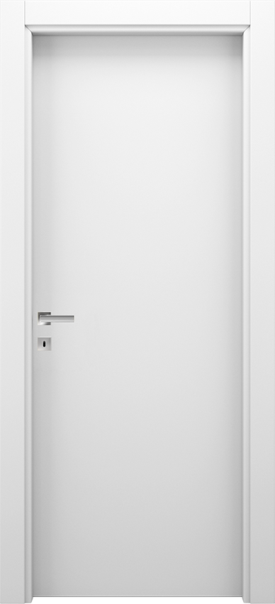 Interior swinging door BRIO 1L, Xonda - White - Gidea