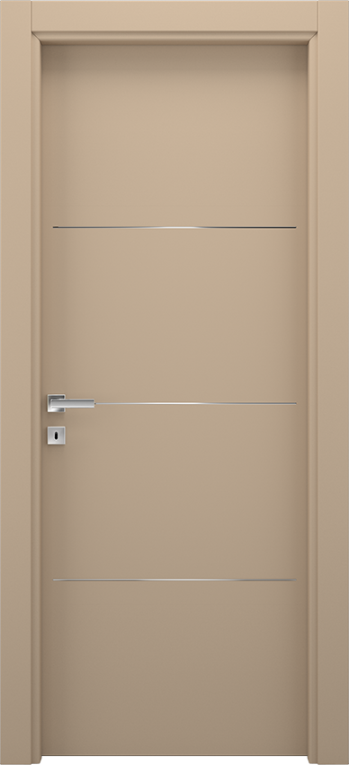 Interior swinging door BRIO 1L3F, Xonda - Dove grey - Gidea