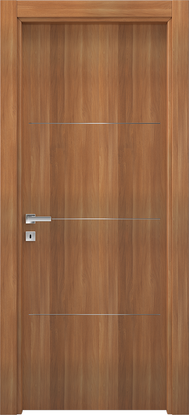 Interior swinging door BRIO 1L3F, Xonda - Blonde walnut - Gidea