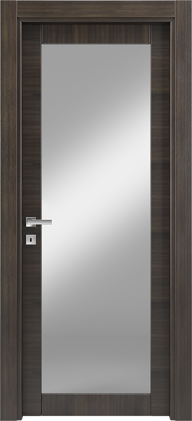 Interior swinging door ANVRIA 1V, Xonda - Oak anthracite - Gidea