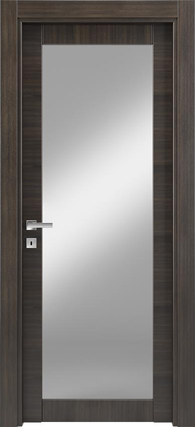 Porta da interni a battente ANVRIA 1V, Xonda - Rovere antracite - Gidea