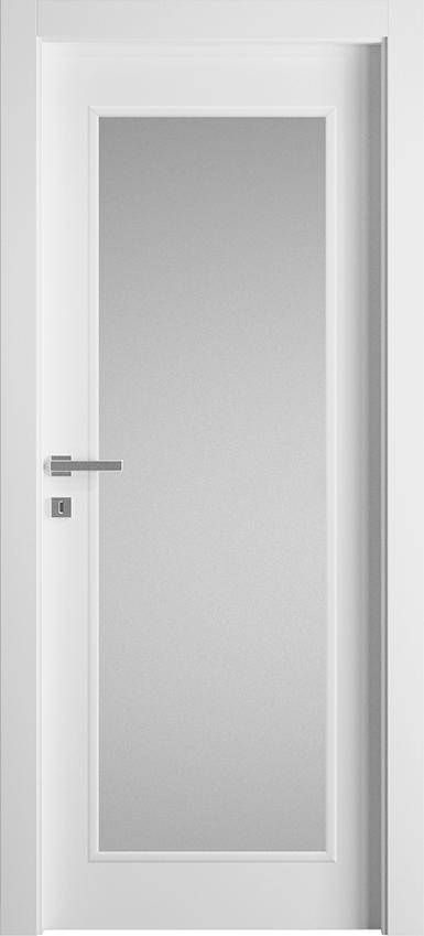 Porta da interni a battente TRIVIO 1LV SF, Avio - Bianco - Gidea