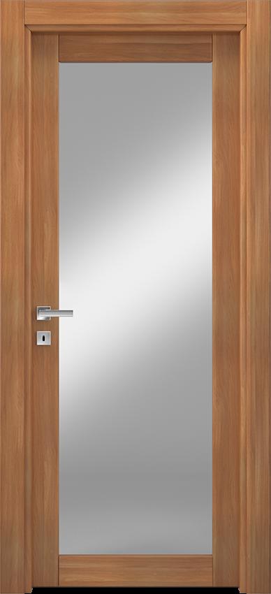 Porta da interni a battente ANVRIA 1V, Xonda - Noce biondo - Gidea