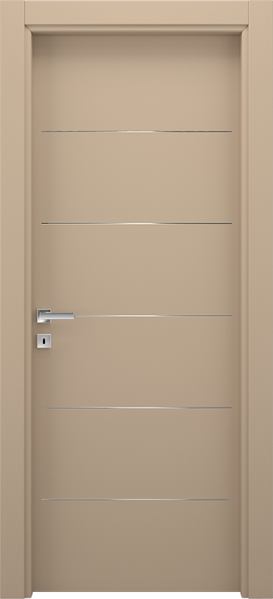 Interior swinging door BRIO 1L5F, Xonda - Dove grey - Gidea