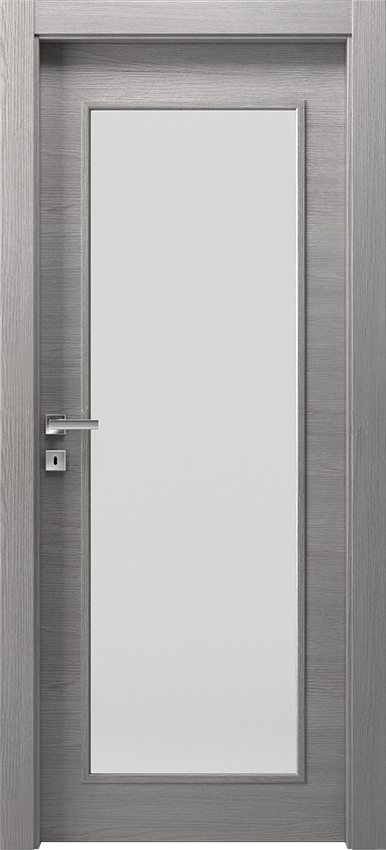 Porta da interni a battente TRIVIO 1LV SF, Avio - Olmo grigio - Gidea
