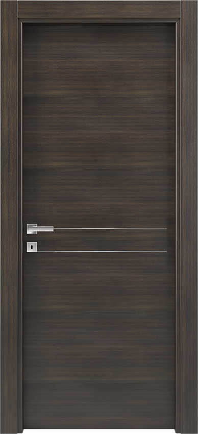 Interior swinging door BRIO 1L2F, Xonda - Oak anthracite - Gidea