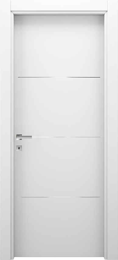Interior swinging door BRIO 1L3F, Xonda - White - Gidea