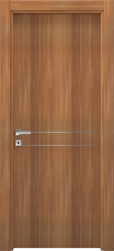 Interior swinging door BRIO 1L2F, Xonda - Blonde walnut - Gidea