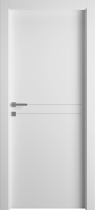 Interior swinging door DUILIA 1L2F SF, Avio - White - Gidea