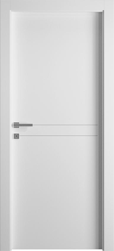 Porta da interni a battente DUILIA 1L2F SF, Avio - Bianco - Gidea