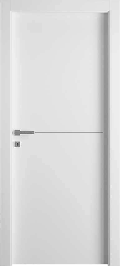 Porta da interni a battente FILIA 1L1F, Avio - Bianco - Gidea