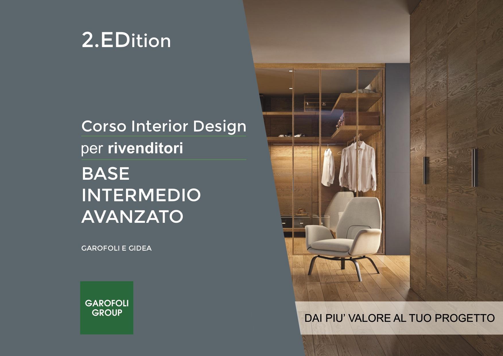 Garofoli Academy Corso Interior Design - Garofoli