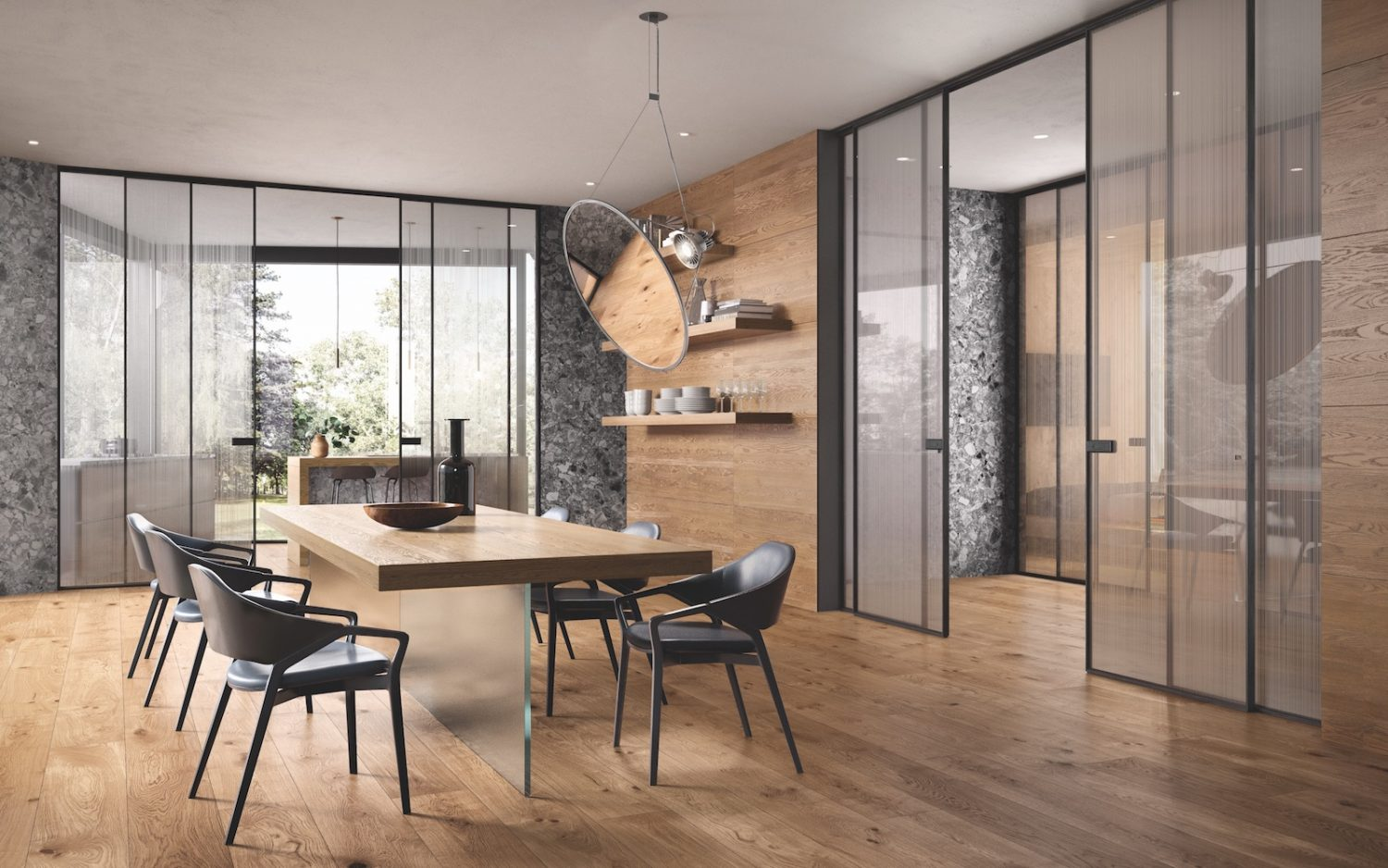 Porte Scorrevoli A Due Ante In Vetro.Italian Doors Parquet Wardrobes And Wooden Design Garofoli