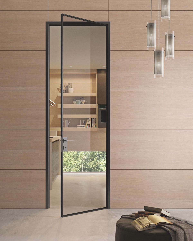 Porta moderna in vetro