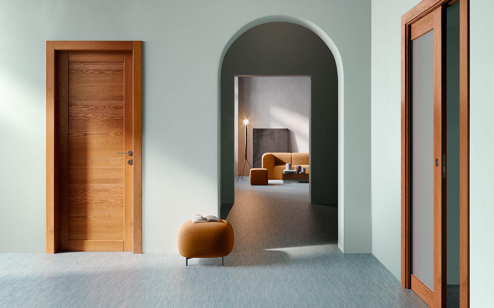 Porte in legno design moderno - Garofoli
