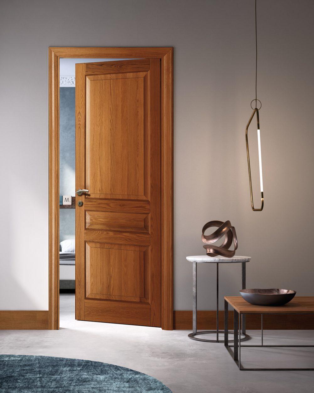 Porta classica legno massiccio - Garofoli