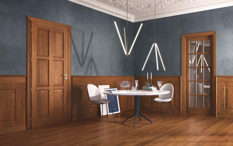 Porte in legno massiccio collezione Classica - Garofoli