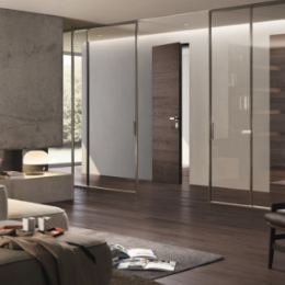 Porte Scorrevoli 4 Ante.Italian Doors Parquet Wardrobes And Wooden Design Garofoli