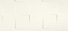LON 1L          PORTA BATT.SING. T.YY19, No Limits - Bianco con texture quadro - Gidea