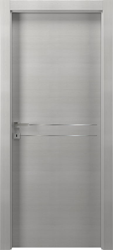 Interior swinging door MIL 1L2F        PORTA BATT.SING. T.YY19, No Limits - Ice elm - Gidea