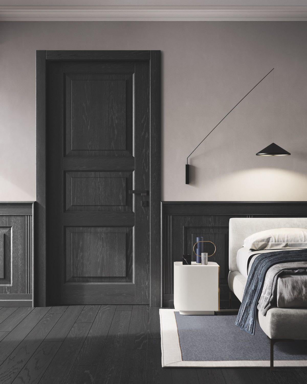 Porta da interni legno massiccio Garofoli 110 e lode