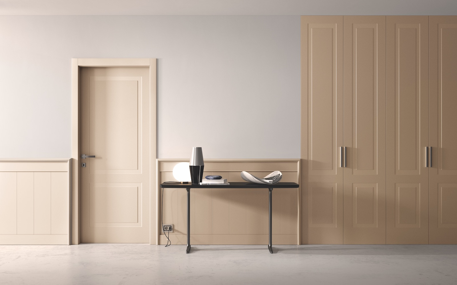 Porta laccata RAL pantografata - Garofoli