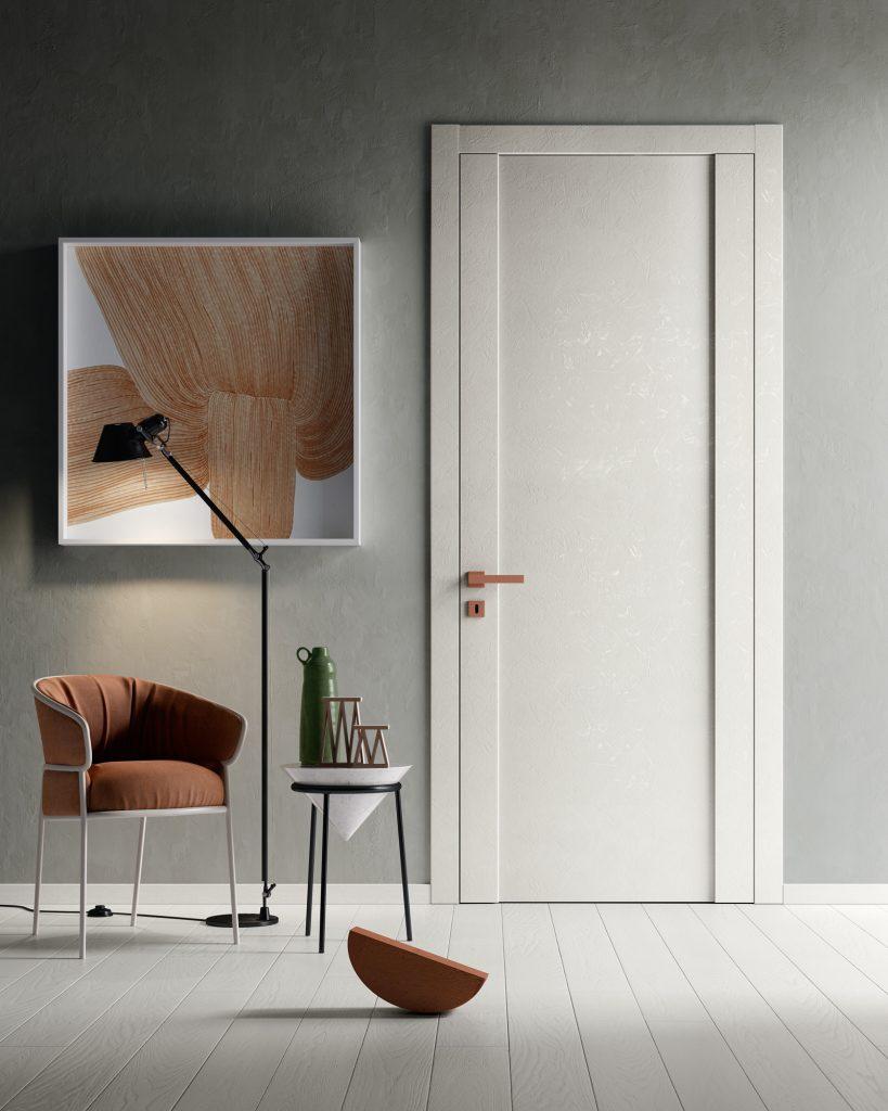 Porta da interni bianca stile moderno No Limits