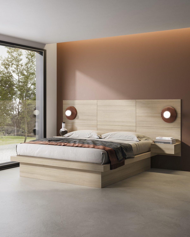 Boiserie mezza altezza Garofoli camera da letto - Garofoli