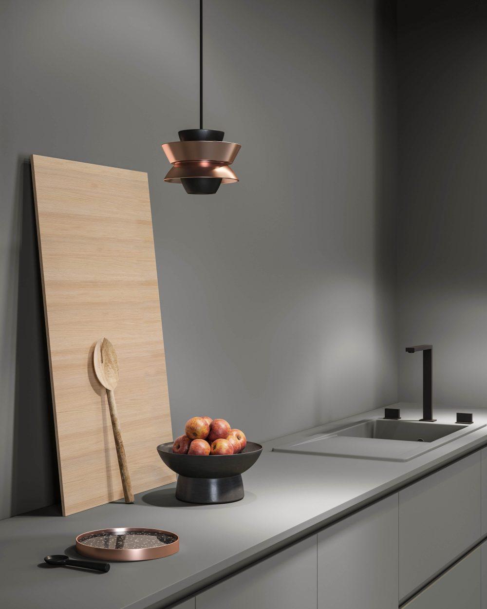 Mobili contenitori e boiserie in legno Garofoli per cucine moderne - Garofoli