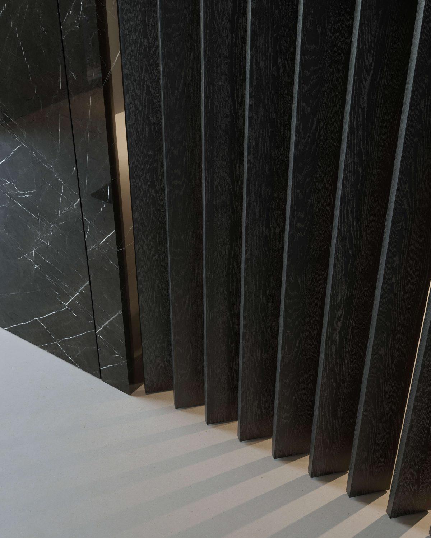 parete orientabile in legno Garofoli Swiwell Partition Wall per cucina moderna