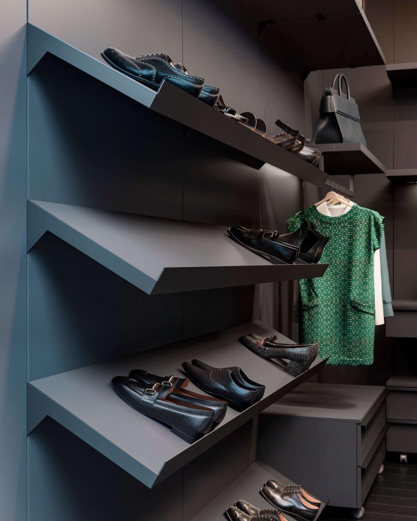 scarpiera cabina armadio stile moderno Garofoli Miria Up
