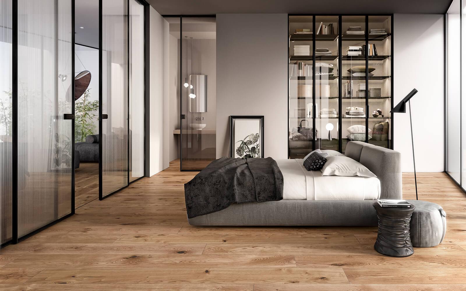Camera da letto rovere seta garofoli - Garofoli